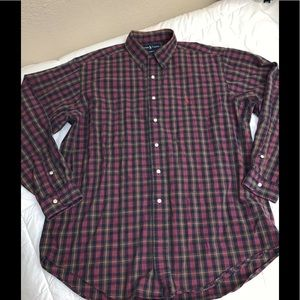 Ralph Lauren Polo Classic Plaid Shirt
